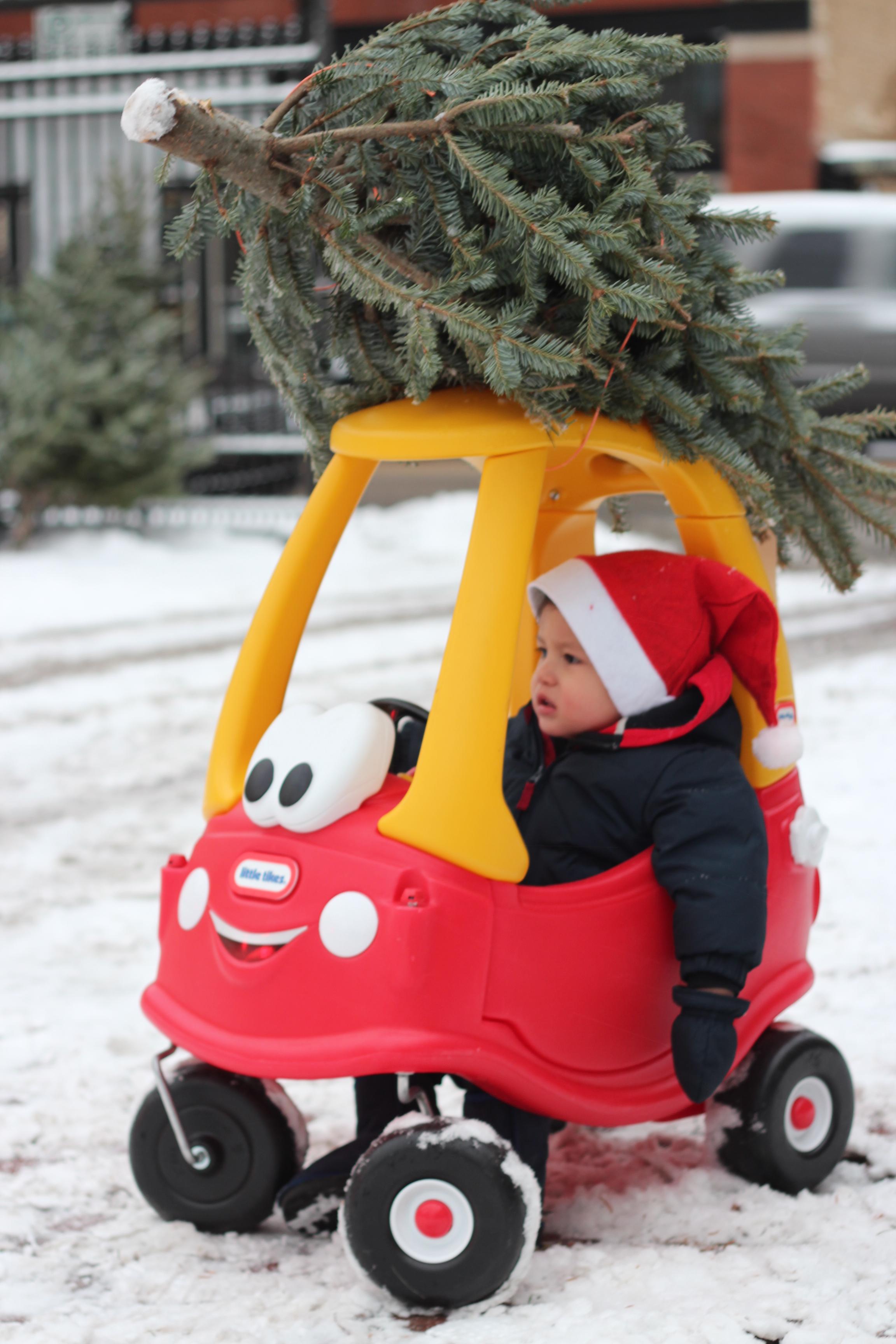 cozy coupe christmas tree