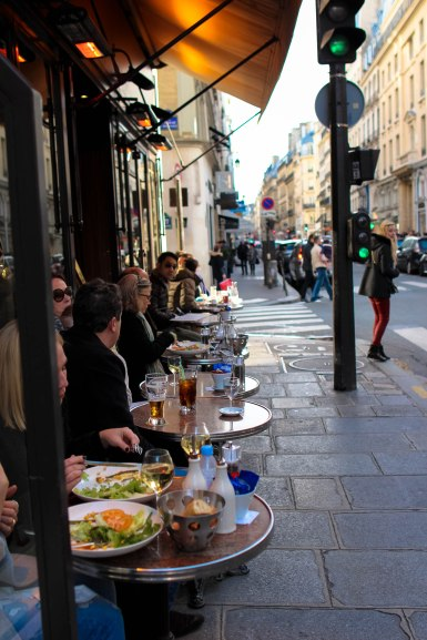 Diners on Saint Honore