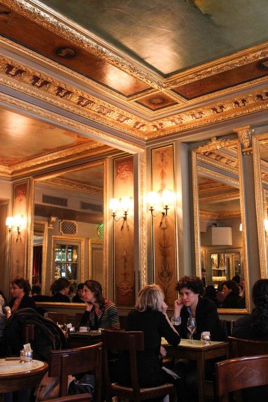 Laduree Rue Royale dining area