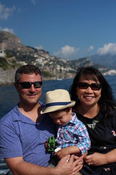 Boat cruise along the Amalfi Coast