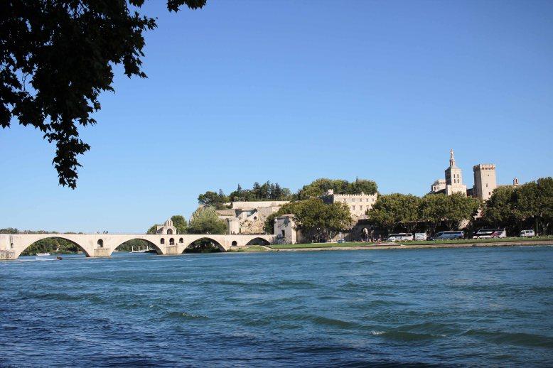 Avignon from outside