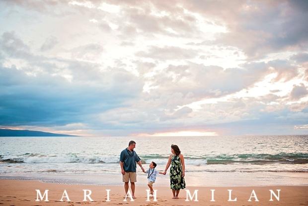 Maui Family Session at Ulua Beach