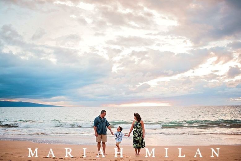 Maui Family Session at Ulua Beach