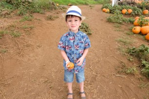 He found his pumpkin