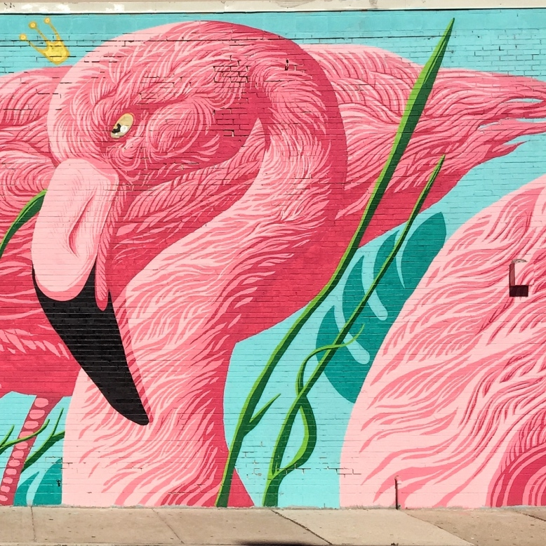 Pink-Flamingo Mural Chicago.JPG